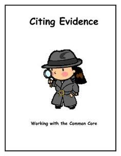 Citing evidence in an essay